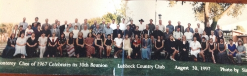 Our last reunion 20 yrs ago